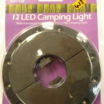 12 Led camping light