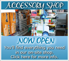 Accessory shop now open